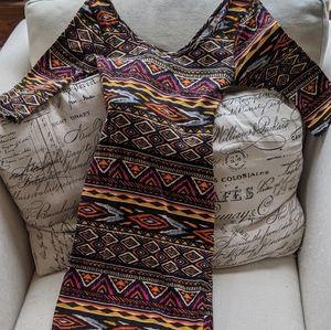 Tribal Print Stretch Dress